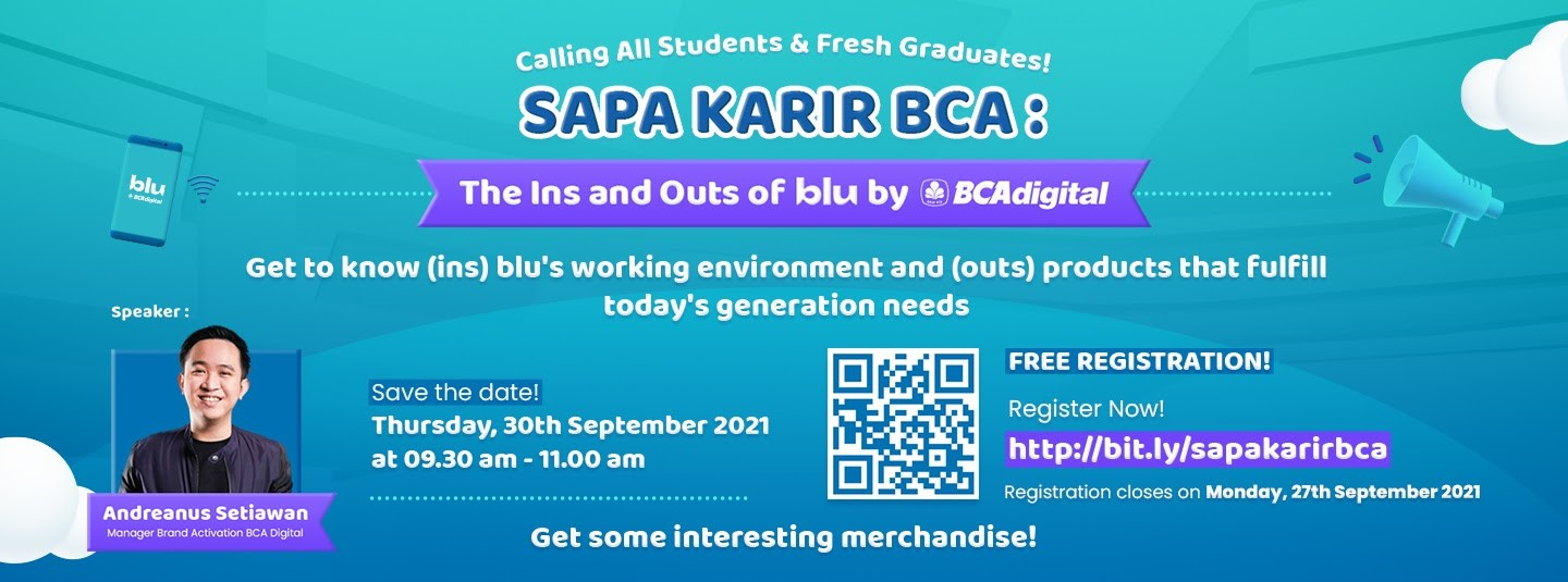 [SUMMARY] SAPA KARIR: The Ins and Outs of blu by BCA Digital